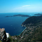 Picture - View of the ocean from Eze.