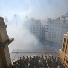 Picture - The Fallas festival in Valencia during the day.