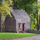 Picture - Historic building at Allaire State Park.