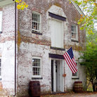 Picture - An old colonial building at Allaire State Park.