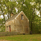 Picture - Colonial building at historic Allaire Village in New Jersey.