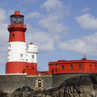 Picture - Lighthouse in the Farne Islands.