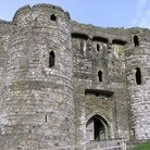 Picture - Entrance to Kidwelly Castle.