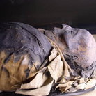 Picture - Egyptian Mummy dating 1080 to 712 BC in the Chicago Field Museum.
