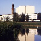 Picture - Finlandia Hall in Helsinki.