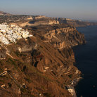 Picture - Cliffs of Santorini.