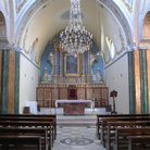 Picture - Interior of Roman Catholic Church in Fira.