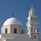 Picture - Church of St John the Baptist in Fira.