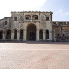 Picture - The First Cathedral of America in Santo Domingo.