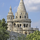 Picture - Fisherman's Bastion in Budapest.