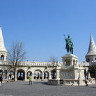 Picture - Fisherman's Bastion on Castle Hill, Budapest.