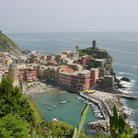 Picture - View of the coast at Cinque Terra.