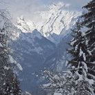 Picture - The mountains at Flaine.