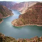 Picture - A view over Flaming Gorge National Recreation Area.