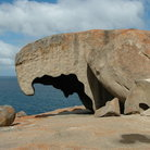 Picture - Rock formation at Flinders Chase National Park on Kangaroo Island.