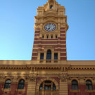Picture - Flinders Street Station in Melbourne.
