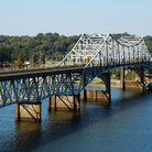 Picture - The Oneal Bridge Spanning the Tennessee River between Florence and Sheffield.