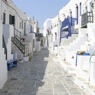 Picture - Street in Folegandros.