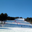 Picture - The ski hill at Font Romeu.