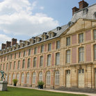 Picture - Exterior of the Chateau at Fontainebleau.