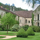 Picture - Grounds of the Abbey de Fontenay.