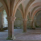 Picture - Vaulted ceiling in the Abbaye de Fontenay.