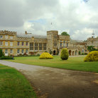 Picture - View of the exterior of Forde Abbey in Chard.