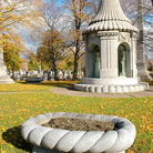 Picture - The Blocher Memorial at the Forest Lawn Cemetery in Buffalo.