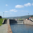 Picture - Lock at Fort Augustus.