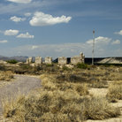 Picture - Abandoned Fort Craig in New Mexico.
