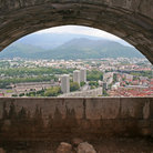 Picture - View of Grenoble from Fort de la Bastille.