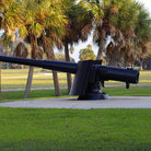 Picture - Canon at Fort Desoto near St Petersburg.