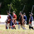 Picture - A re-enactment at Fort Dobbs State Historic Site in Statesville.