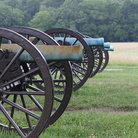 Picture - Civil war cannons at Chickamauga National Military Park.