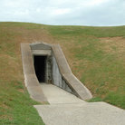 Picture - Underground doorway, Fort Pulaski, Savannah.