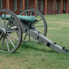 Picture - A Civil War cannon at Fort Pulaski, Savannah.