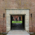 Picture - Entrance way at Fort Pulaski, Savannah.