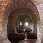 Picture - Power storage area of Fort Pulaski National Monument.