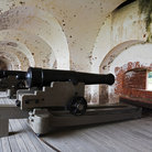 Picture - Canons at the Fort Pulaski National Monument built 1829 to 1847.