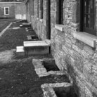 Picture - Exterior of the barracks at Fort Snelling, St Paul.