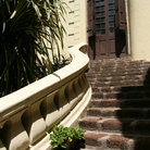 Picture - Stairs to St Mary's Church at Fort St George in Chennai.