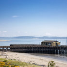 Picture - The pier and beach front at Fort Worden State Park in Port Townsend.