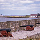 Picture - The Fortress of Louisbourg National Historic Site.