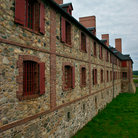 Picture - Stone building in Louisbourg.