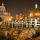 Picture - Foro di Cesare, Roman Forum in Rome.