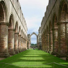 Picture - Arches at Fountains Abbey.