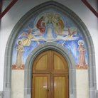 Picture - Entrance to Franciscan Church in Lucerne.