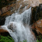 Picture - Waterfall in Franconia Notch State Park.