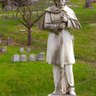 Picture - Monument To Confederate Soldiers at the Frankfort Cemetery.