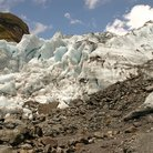 Picture - Close up of the Franz Joseph Glacier.